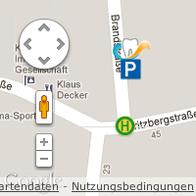 Anfahrt Zahnarzt Dr. Popp Nürnberg